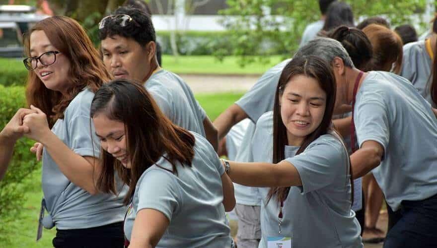 team building facilitators in the Philippines make you happy