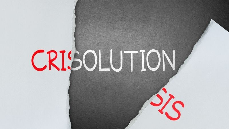 solutions revealed behind crisis