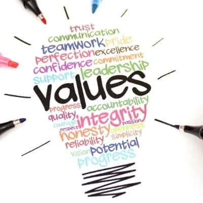 values to action guide